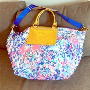 Lilly Pulitzer Cabana Cocktail Weekend Bag